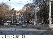 Купить «Калининград. Проспект Мира», эксклюзивное фото № 5391831, снято 10 ноября 2013 г. (c) Svet / Фотобанк Лори
