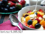 Завтрак. Стоковое фото, фотограф Анастасия Кунденкова / Фотобанк Лори