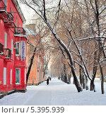Улица Благовещенска (2013 год). Стоковое фото, фотограф Андрей Ершов / Фотобанк Лори