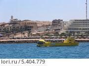 Купить «Туристическая субмарина в водах Красного моря, Египет», эксклюзивное фото № 5404779, снято 27 июля 2013 г. (c) Алексей Гусев / Фотобанк Лори
