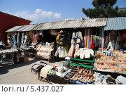 Рынок на горе Ай-Петри (2008 год). Стоковое фото, фотограф Дмитрий Казанцев / Фотобанк Лори