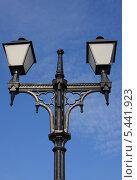 Купить «Уличный фонарь», фото № 5441923, снято 5 октября 2008 г. (c) Игорь Семенов / Фотобанк Лори