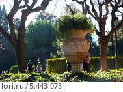 Королевский дворец Педральбес, Барселона, Испания. Стоковое фото, фотограф Яков Филимонов / Фотобанк Лори
