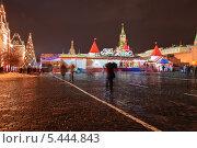 Праздничный ГУМ-Каток на Красной площади (2013 год). Редакционное фото, фотограф Алёшина Оксана / Фотобанк Лори