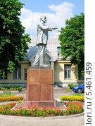 Купить «Памятник Ленину в Курьянове», эксклюзивное фото № 5461459, снято 29 июня 2013 г. (c) Alexei Tavix / Фотобанк Лори