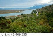 Вид на канал Вивари, связывающий озеро Бутринти с проливом Корфу. Албания (2013 год). Стоковое фото, фотограф Ольга Кирсанова / Фотобанк Лори