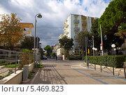 Купить «Улицы итальянского курорта Римини. Италия», фото № 5469823, снято 3 ноября 2013 г. (c) Евгений Ткачёв / Фотобанк Лори