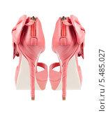 Розовые туфли на высоком каблуке. Стоковое фото, фотограф Александр Новиков / Фотобанк Лори