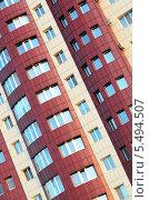 Фрагмент высотного многоэтажного дома. Стоковое фото, фотограф Ганшмидт Александр Евгеньевич / Фотобанк Лори
