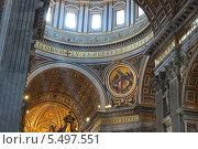 Собор Святого Петра. Ватикан, Рим, Италия. (2013 год). Редакционное фото, фотограф Евгений Кулагин / Фотобанк Лори