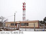 Современная котельная станция. Стоковое фото, фотограф Владимир Гуторов / Фотобанк Лори