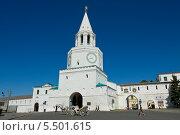 Купить «Казань, Спасская башня кремля», фото № 5501615, снято 31 мая 2013 г. (c) ИВА Афонская / Фотобанк Лори