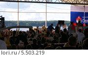 Купить «Путин на форуме Селигер 2013», фото № 5503219, снято 2 августа 2013 г. (c) Иван Федоренко / Фотобанк Лори