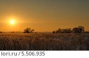 Зимний закат. Стоковое фото, фотограф Алексей Голованов / Фотобанк Лори