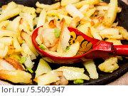 Купить «Домашняя жареная картошечка», фото № 5509947, снято 22 января 2014 г. (c) Наталья Осипова / Фотобанк Лори