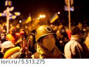 Купить «Революция на Украине», фото № 5513275, снято 20 января 2014 г. (c) Иван Нестеров / Фотобанк Лори
