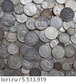 Купить «Старинные серебряные монеты», фото № 5513919, снято 6 июня 2013 г. (c) Швадчак Василий / Фотобанк Лори