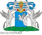 Купить «Герб рода Глебовых», иллюстрация № 5519423 (c) VectorImages / Фотобанк Лори