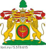 Купить «Герб рода Сухово-Кобылиных», иллюстрация № 5519615 (c) VectorImages / Фотобанк Лори