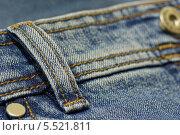 Купить «Шлевка на джинсах», фото № 5521811, снято 26 января 2014 г. (c) Алексей Голованов / Фотобанк Лори