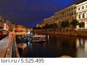 Вечерний питер (2012 год). Редакционное фото, фотограф Ярослав Грицан / Фотобанк Лори