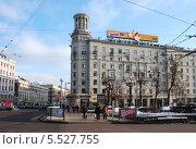 Купить «Тверской бульвар, 28/17 в Москве», эксклюзивное фото № 5527755, снято 10 февраля 2012 г. (c) lana1501 / Фотобанк Лори