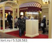 Купить «Москва, виды магазина ГУМ  2014», эксклюзивное фото № 5528583, снято 11 января 2014 г. (c) Дмитрий Неумоин / Фотобанк Лори