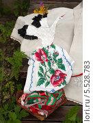 Белорусская вышивка. Редакционное фото, фотограф Виктория Чеканова / Фотобанк Лори
