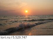 Азовское море. Коса Долгая. Стоковое фото, фотограф Дмитрий Казанцев / Фотобанк Лори