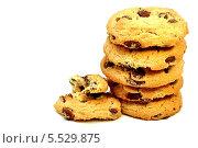 Купить «Шоколадное печенье», фото № 5529875, снято 25 января 2014 г. (c) Мастепанов Павел / Фотобанк Лори