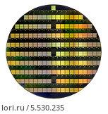 Купить «Кремниевая пластина (Epi wafer)», фото № 5530235, снято 15 мая 2012 г. (c) Vasily Smirnov / Фотобанк Лори