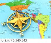 Купить «Знак навигации на политической карте», иллюстрация № 5540343 (c) Maksym Yemelyanov / Фотобанк Лори