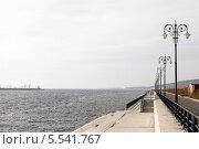 Набережная Тольятти, осень (2013 год). Стоковое фото, фотограф Сергей Хрушков / Фотобанк Лори