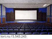 """Купить «Широкий экран кинотеатра """"Нева"""". Москва», фото № 5543243, снято 9 ноября 2012 г. (c) Losevsky Pavel / Фотобанк Лори"""