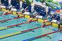 Пловцы в Олимпийском спортивном комплексе на чемпионате России по плаванию, Москва, фото № 5544175, снято 20 апреля 2012 г. (c) Losevsky Pavel / Фотобанк Лори