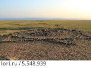 Купить «Магические символы, Аркаим», фото № 5548939, снято 17 августа 2011 г. (c) Роман Иванов / Фотобанк Лори