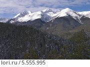 Купить «Пиринские горы (Пирин-Планина, Пирин) на юго-западе Болгарии», фото № 5555995, снято 1 февраля 2014 г. (c) ZitsArt / Фотобанк Лори