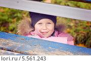 Девочка (3,5 года) Стоковое фото, фотограф Марина Гуменюк / Фотобанк Лори