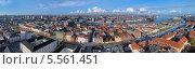 Купить «Большая панорама Копенгагена, Дания», фото № 5561451, снято 7 ноября 2010 г. (c) Михаил Марковский / Фотобанк Лори