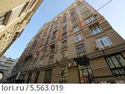 Большой Гнездниковский переулок дом 10, Москва (2014 год). Редакционное фото, фотограф Инесса Гаварс / Фотобанк Лори