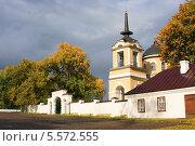 Купить «Лермонтово. Церковь Михаила Архангела», фото № 5572555, снято 28 сентября 2013 г. (c) Игорь Потапов / Фотобанк Лори