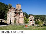 Купить «Православный монастырь Каленич в Сербии», фото № 5581443, снято 29 августа 2012 г. (c) Солодовникова Елена / Фотобанк Лори
