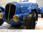 Ретро автомобиль Delahaye 135 CC 1935г (2010 год). Редакционное фото, фотограф Алексей Горбунов / Фотобанк Лори