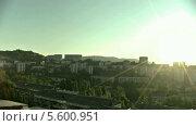 Купить «Рассвет в Сочи, таймлапс», видеоролик № 5600951, снято 1 сентября 2013 г. (c) Александр Плетюшкин / Фотобанк Лори