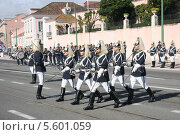 Парад президентской гвардии в Лиссабоне (2011 год). Редакционное фото, фотограф Дмитрий Булатов / Фотобанк Лори