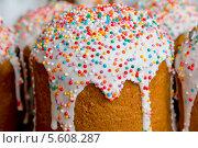Купить «Пасхальные куличи», фото № 5608287, снято 5 мая 2013 г. (c) Юлия Ермакова / Фотобанк Лори