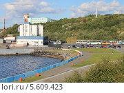 Купить «Морской вокзал в Североморске», фото № 5609423, снято 18 августа 2013 г. (c) Иван Тимофеев / Фотобанк Лори
