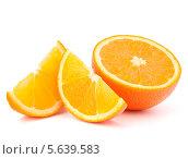 Купить «Апельсиновые дольки», фото № 5639583, снято 23 апреля 2012 г. (c) Natalja Stotika / Фотобанк Лори