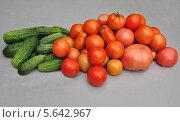 Овощи на столе. Стоковое фото, фотограф ВЛАДИМИР КУШПИЛЬ / Фотобанк Лори
