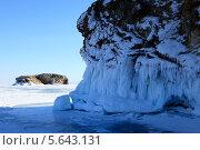 Купить «Озеро Байкал в солнечный зимний день», фото № 5643131, снято 14 февраля 2013 г. (c) Сергей Белов / Фотобанк Лори